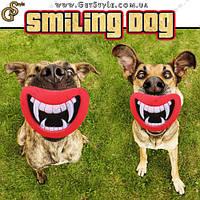 """Забавная игрушка для собак - """"Smiling Dog"""""""