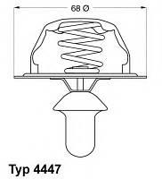 Термостат PEUGEOT 605 2.1TD АКПП