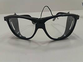 Очки слесарные прозрачные (стекло)