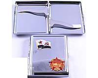 Портсигар на 20 сигарет Октябрьская революция  СССР AL206-2