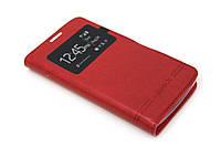 Чехол книжка Momax для Lenovo A1000 красный