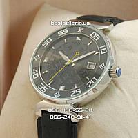 Часы Louis Vuitton 2040 (механика) silver/black.