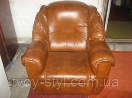 Перетяжка кожанной мебели в Днепропетровске