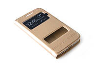 Чехол книжка Momax для Samsung Galaxy Core Prime G360 / G361H золотистый