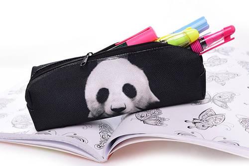 Пенал с рисунком панды