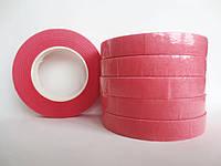 Флористическая лента (тейп-лента), РОЗОВЫЙ, 12 мм