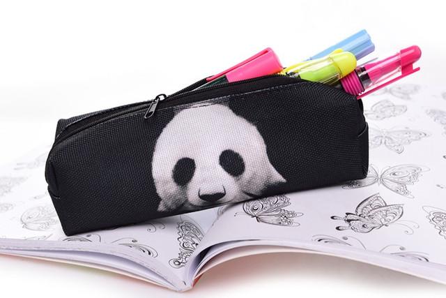 Стильный пенал панда
