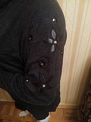 Туника с хомутом и вышивкой
