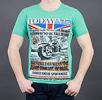 Прикольная мужская летняя футболка