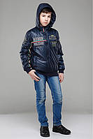 Куртка детская демисезонная Лайк для мальчика рост 122- 140,  ТМ NUI VERY