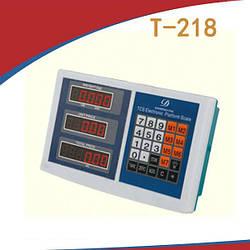 Весовой индикатор в пластике Т-218 (до 800 кг)