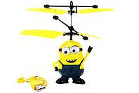 Іграшка Вертоліт Літає Міньйон, фото 1