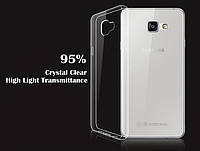 Ультратонкий чехол для Samsung Galaxy A7 A710f 2016 прозрачный