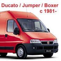 Запчасти для Fiat Ducato, Citroën Jumper, C25, Peugeot Boxer, J5