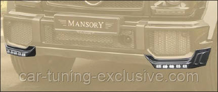 MANSORY add on light bar for front bumper for Mercedes G-class