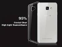 Ультратонкий чехол для Samsung Galaxy A3 A310f 2016 прозрачный