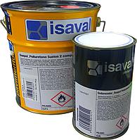 Полиуретановая краска для бетонных полов 2х-компонентная Дуэполь (жемчужно-серый) 4л до 28м2, фото 1