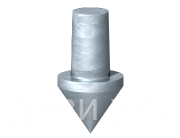 Ударный наконечник для стержней заземления ST и BP (1819 20BP) 3041212