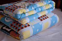 Детское одеяло закрытое овечья шерсть (Поликоттон) 110x140