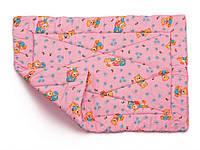 Детское одеяло закрытое овечья шерсть (Бязь) 110x140