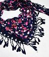 Особенный женский платок 160 на 55 Dress S255_фиолет, фото 2
