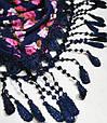 Особенный женский платок 160 на 55 Dress S255_фиолет, фото 3