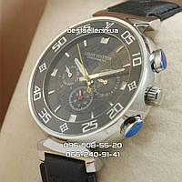 Часы Louis Vuitton 2042 (механика) silver/black.
