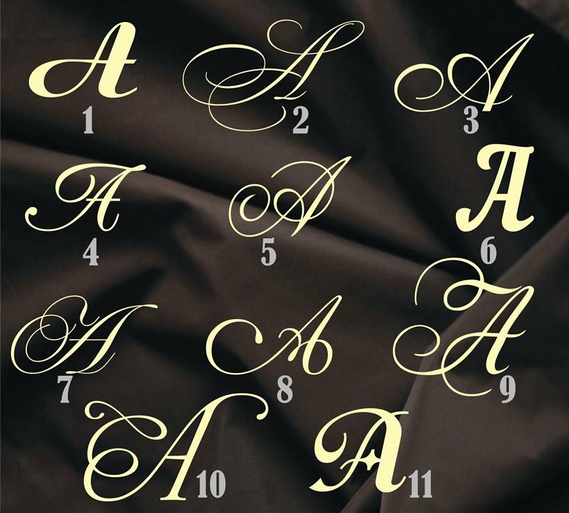 """Об'ємний декор - Літера """"А"""""""
