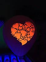 Печать на воздушных шарах флуорисцентная