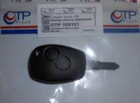 Корпус ключа (с заготовкой,без электронной части)  Logan,MCV,Sandero.Производитель:OTP Frank.