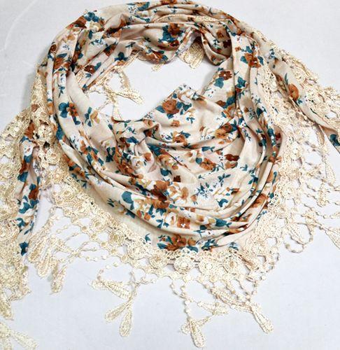 Восхитительный женский платок 160 на 55 Dress S255_беж