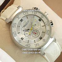 Часы Louis Vuitton 2044 (механика) white/silver.