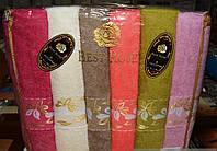 "Мягкое полотенце сауна ""Best Rose"" упаковкой Турция"