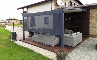 Пример террасы возле дома