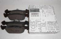 Колодки тормозные передние Logan 1.2 16V, 1.6 16V 1.5DCI > 2013г. оригинал