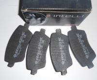 Колодки тормозные передние MCV,VAN 1.5 DCI,диск вентилированный,без ESP/ABS. Производитель: Intelli.