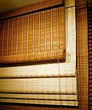 Бамбуковые жалюзи белые, фото 4