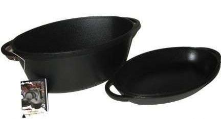 Чугунная гусятница - посуда на праздники и каждый день