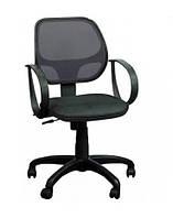 Кресло Бит-8 сиденье Сетка черная/спинка Сетка черный