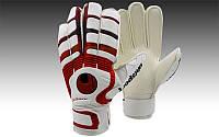 Перчатки вратарские с защитными вставками на пальцы  UHLSPORT PVC, р-р 8-10