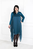 Красивое  нарядное платье с шифоном №173