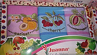 Набор вафельных полотенец для кухни Фрукты
