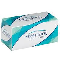 Контактные линзы цветные FreshLook Dimensions RX с диоптрией