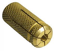 Анкер забивной латунный М4×15 d5 (100 шт/уп)