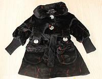 Детское пальто для девочки оптом