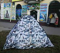 """Палатка для зимней рыбалки 2х2м, Ranger, с москитной сеткой """"Снежный барс"""""""