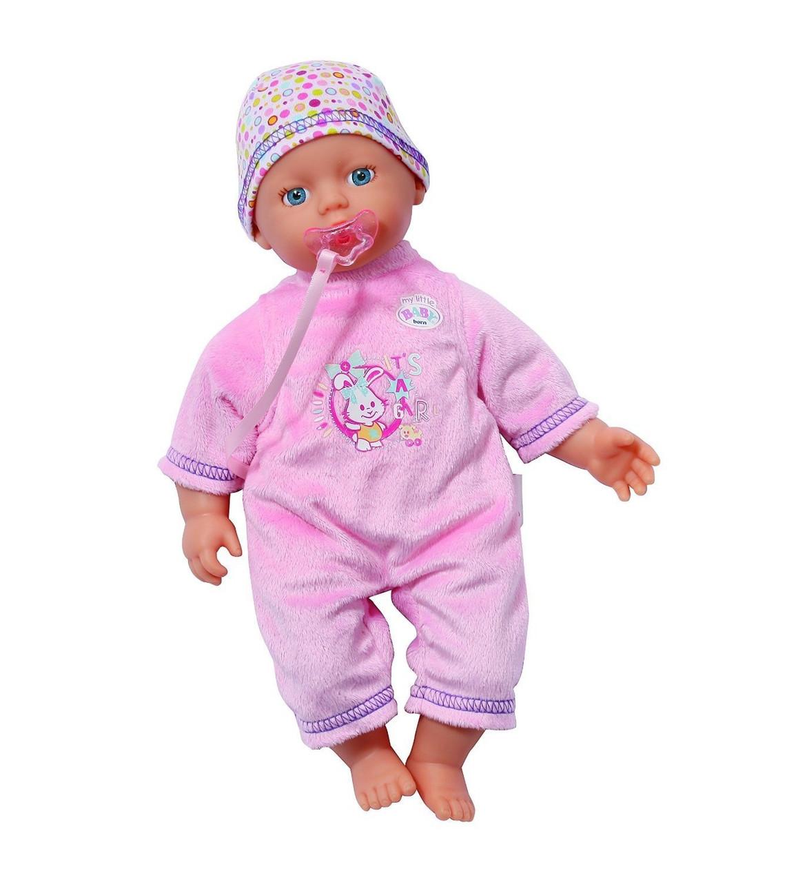 Кукла Baby Born Беби Борн  с соской Zapf Creation 819753