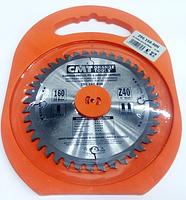 Пильный диск по алюминию и ДСП СМТ 296.160.40Н (160х20х40Z)