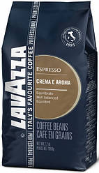 Кофе в зернах Lavazza Espresso Crema e Aroma 1кг Голубая. Лавацца Оригинал, Италия!
