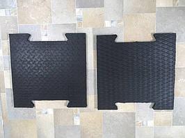 Плитки резиновые, толщина 20 мм.